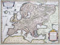 EUROPE  CELTIC BY ORTELIUS