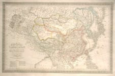 CARTE GENERALE DE L'EMPIRE CHINOIS
