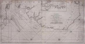 SEA CHART  LONDON   EAST ANGLIA