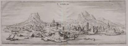CANDIA  HERAKLION  CRETE