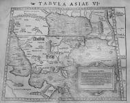 ARABIA    TABULA ASIAE VI