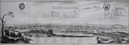 MERIAN'S PANORAMA OF PARIS