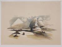 EGYPT   .THE SPHINX .. DAVID ROBERTS