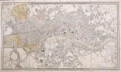 LONDON   FOLDING MAP