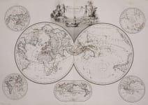 WORLD  MAPPE-MONDE