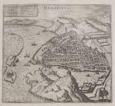 MARSEILLE  BY BRAUN & HOGENBERG