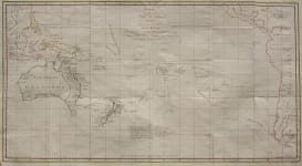 AUSTRALIA  COOK'S TRACKS THROUGH SOUTH PACIFIC