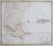 COOK'S VOYAGES  CAPER HORN  FALKLAND ISLANDS