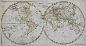 BONNE  WORLD MAP