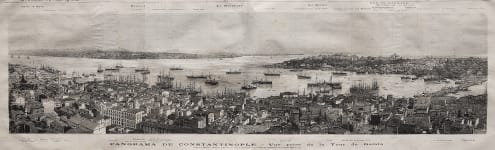 VIEW OF ISTANBUL CONSTANTINOPLE