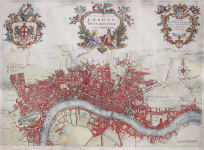 STRYPE'S GREAT MAP OF LONDON