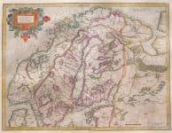 MERCATOR'S MAP OF SCANDINAVIA
