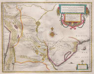 EXCELLENT MAP OF LA PLATA AREA ? NORTH ARGENTINA PARAGUAY URAGUAY CHILE AND SOUTH BRAZIL  RIO DE JANIERO