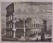 BLAEU'S SUPERB  COLESSEUM ROME
