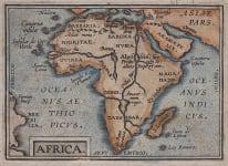 AFRICA  ORTELIUS