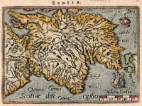 SCOTLAND   SMALL ORTELIUS
