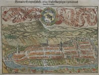 BERNE  DOUBLE PAGE PANORAMA BY MUNSTER