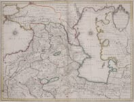 THE CAUCUSES RARE MAP FROM DE L'ISLE