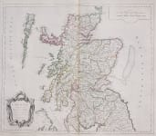 SANTINI'S MAP OF SCOTLAND