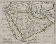 SANSON'S MAP OF ARABIA