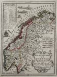 CHIQUETS MAP OF NORWAY