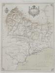 RARE MAP OF ALPES MARITIMES