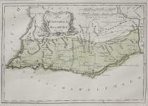 RARE MAP OF THE ALGARVE