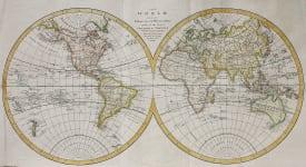 WORLD IN HEMOSPHERES  BY ARROWSMITH