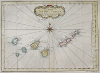 BELLIN'S MAP OF THE CANARY ISLANDS