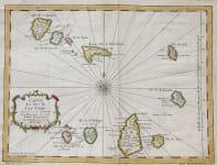 BELLIN'S MAP OF THE CAP VERDE ISLANDS