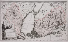 REILLY'S MAP OF FINLAND , PART OF SWEDEN