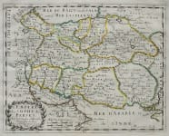 SANSON'S MAP OF PERSIA