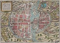 MUNSTER  PLAN OF PARIS   1569