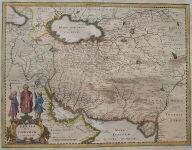 MERIAN'S MAP OF PERSIA