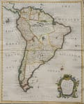 SEALE'S MAP OF SOUTH AMERICA