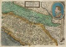 QUAD  BUSSEMECHER  MAP OF THE BALKANS ORIGINAL COLOUR