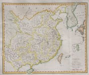 CHINA FROM COOKE'S UNIVERSAL SYSTEM OF GEOGRAPHY