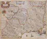 BLAEU'S MAP OF LANGUEDOC