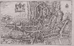 MERIAN'S MAP VIEW OF LAUSANNE
