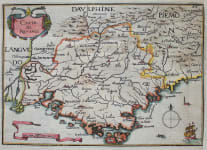 TASSIN'S MAP OF PROVENCE