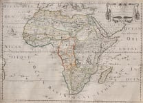 SANSON'S IMPORTANT MAP OF AFRICA