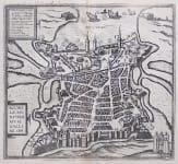 BRAUN & HOGENBERG'S  PLAN VIEW OF LA ROCHELLE