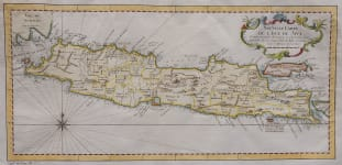 BELLIN'S MAP OF JAVA