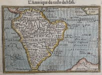 LANGENE'S MAP OF SOUTH AMERICA