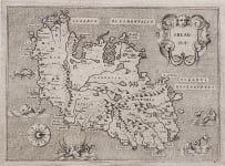 PORCACCHI'S MAP OF IRELAND