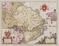 BLAEU'S MAP OF UPLANDIA  STOCKHOLM