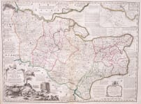 BOWEN'S DETAILED AND ATTRACTIVE MAP OF KENT