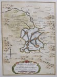 BELLIN MAP OF MEXICO CITY & LAKES