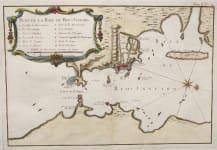 BELLIN'S RARE CHART OF RIO DE JANEIRO