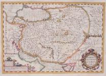 MERCATOR'S ORIGINAL COLOUR FOLIO MAP  OF PERSIA